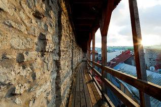Башня Хеллеманнa и городская стена