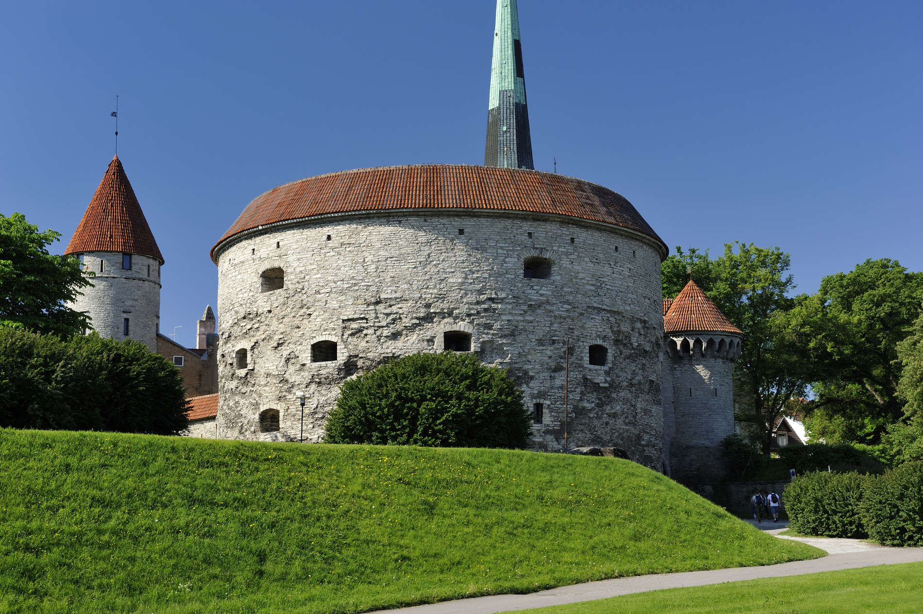 Estonian Viking Age exhibition at Fat Margaret's Tower