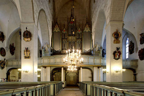 Organ music at the Dome Church