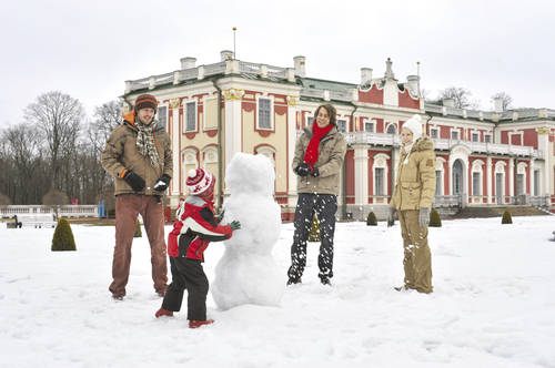 Active holiday with children in Tallinn
